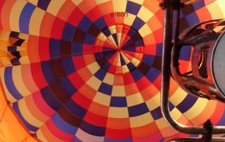 Ballonfahrten Dresden | Blick in den Ballon
