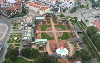 Ballonfahrt Dresden | Zwinger